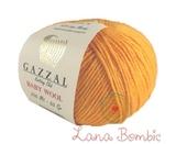 Пряжа Gazzal Baby Wool оранжевый 837