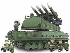 Конструктор Танковое сражение Самоходная огневая установка