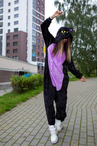 Ночной кот (фиолет)