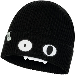 Вязаная шапка Buff Hat Knitted Funn Bat Black