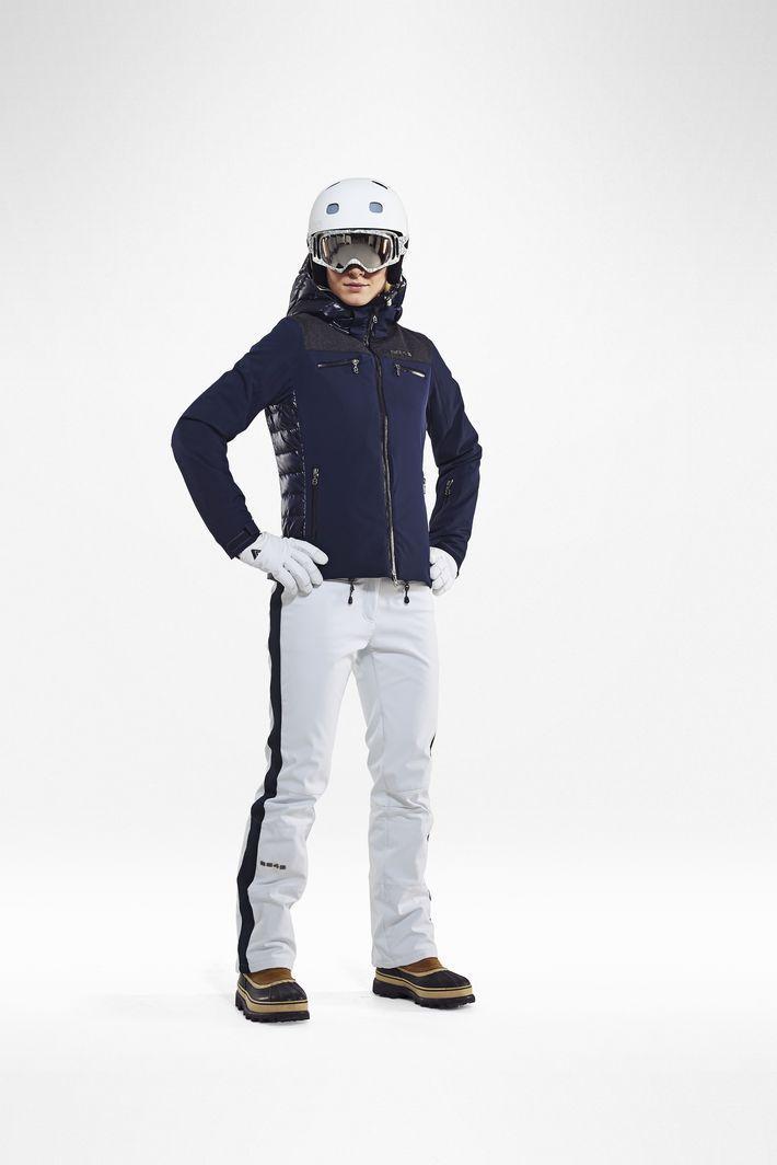 8848 Altitude Estelle женские горнолыжные брюки белые фото