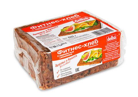 Фитнес-хлеб с семенами льна Delba, 500г