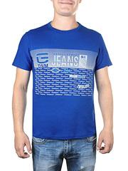 17611-3 футболка мужская, синяя