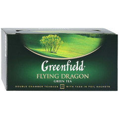 "Чай зелёный ""Greenfield"" Flying Dragon 25*2г"