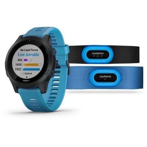 Купить Мультиспортивные часы Garmin Forerunner 945  Синий Комплект (010-02063-11) по доступной цене