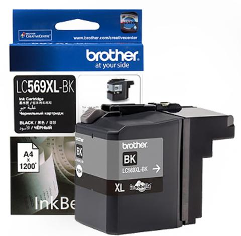 Картридж Brother LC569XLBK