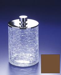 Емкость для косметики большая Windisch 88126OV Cracked Crystal