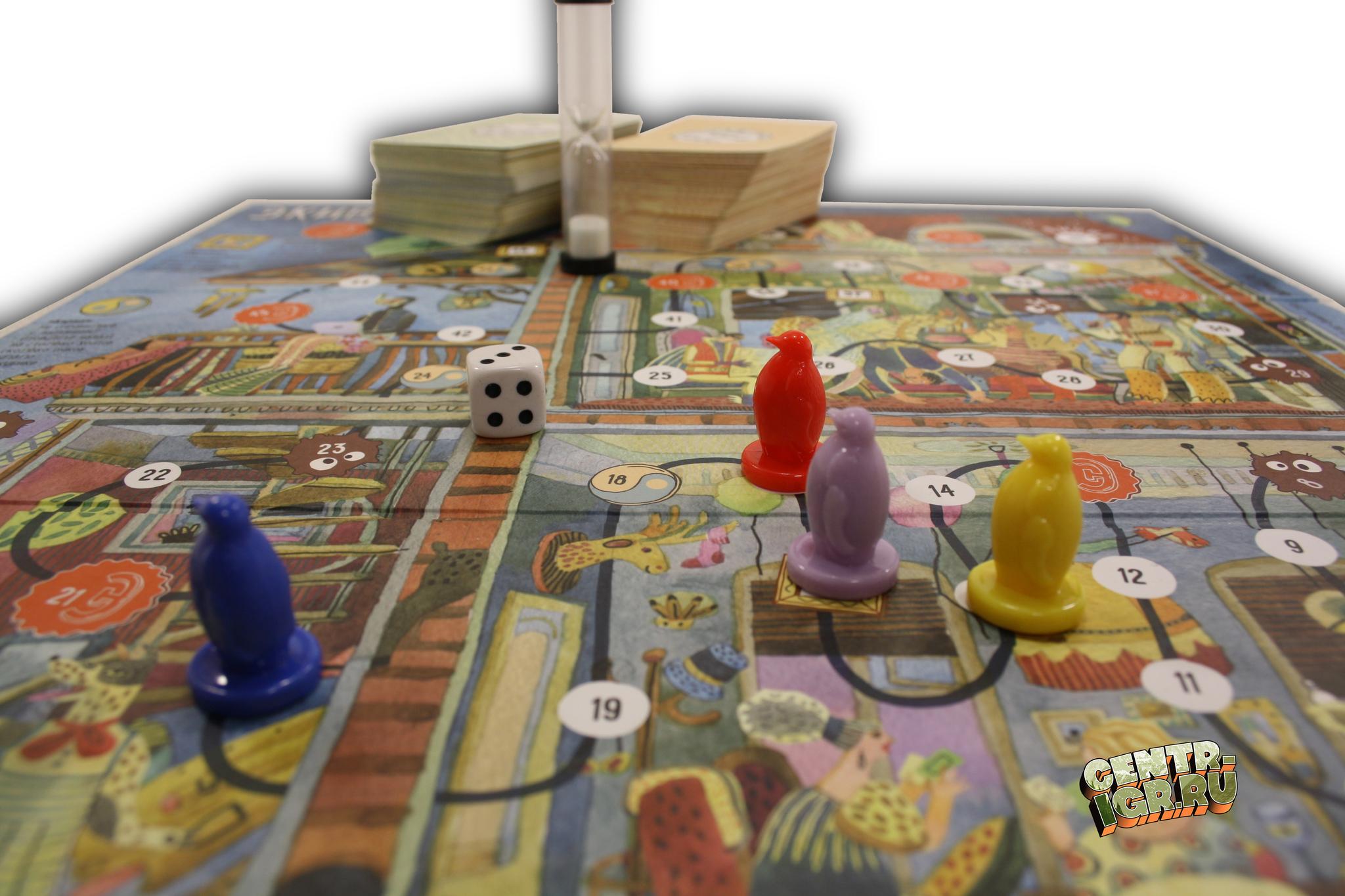 Настольная игра Экивоки карта