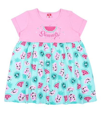 Cherubino Платье ясельное CSB61827 розовое