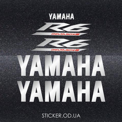 Набор виниловых наклеек на мотоцикл YAMAHA YZF-R6 2005