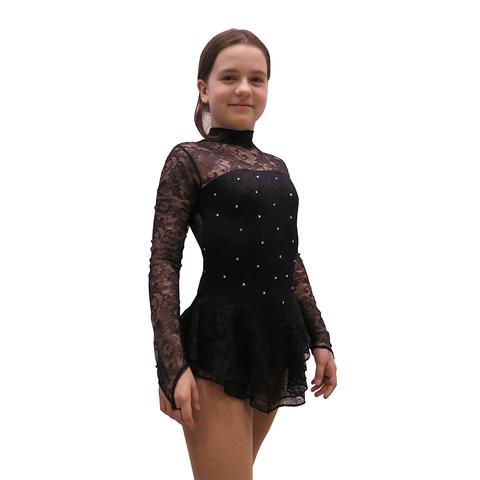 Платье «Ажур-Black» (ПОД ЗАКАЗ)