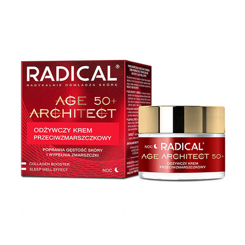 Farmona Крем от морщин питательный 50+ Radical Age Architect Nourishing Anti Wrinkle Cream 50мл