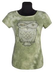 305-18 футболка женская, зеленая