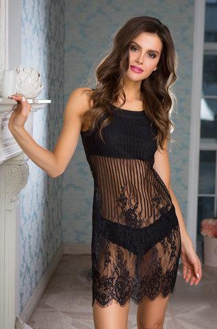 Сорочка женская  MIA-MIA Lolita Лолита 17461 черный