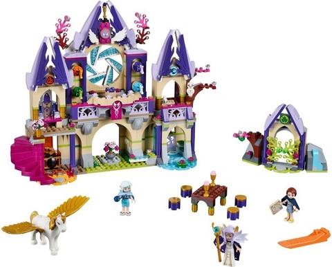 LEGO Elves: Небесный замок Скайры 41078 — Skyra's Mysterious Sky Castle — Лего Эльфы