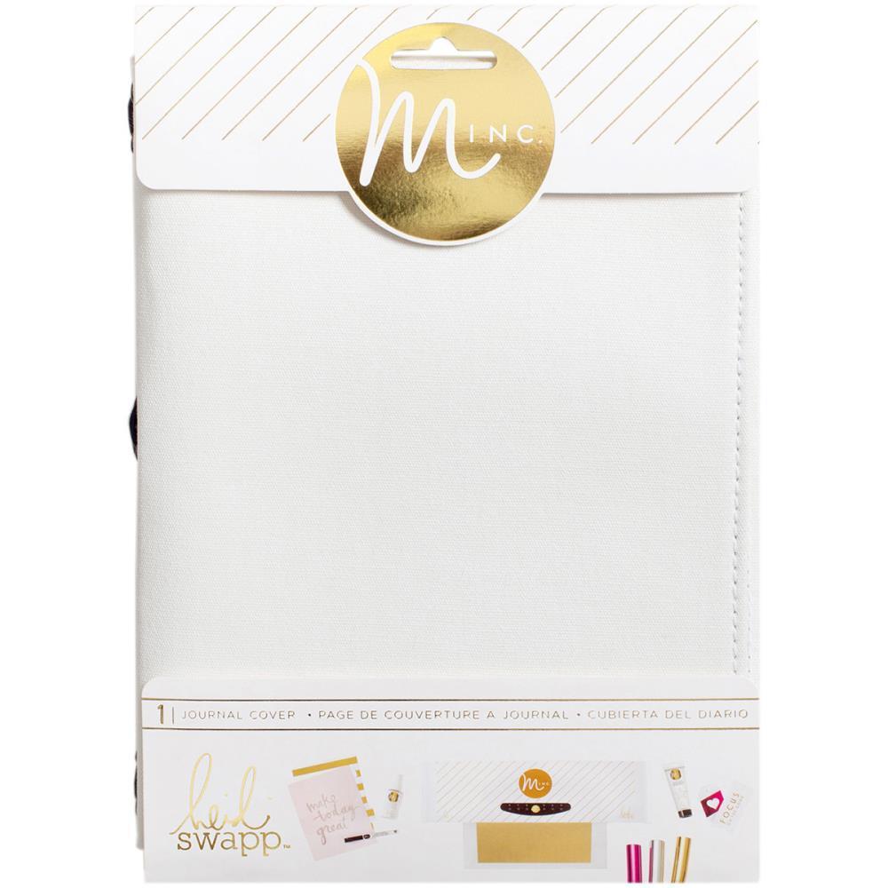 Холщовая обложка на резинке для блокнота Minc Journal Cover -White Canvas- 15,7х20см