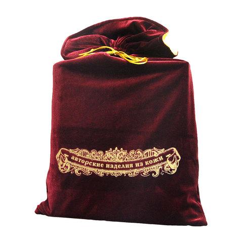 Мешок подарочный М-5 бордо