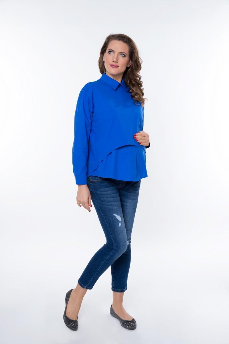 Блузка 08922 синий