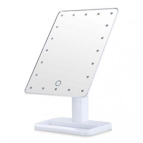 Настольное зеркало с подсветкой станет идеальным помощником для каж...