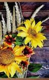 Настенный обогреватель Цветы
