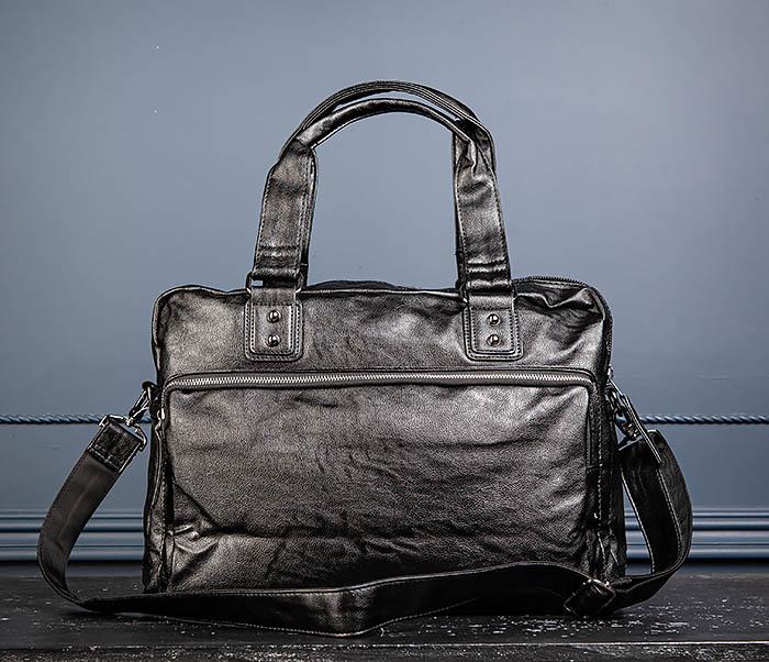 BAG552 Кожаная сумка для поездок с длинными ручками фото 10