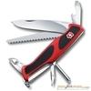 Нож перочинный Victorinox RangerGrip 56 130мм 12 функций красно-чёрный (0.9663.C) нож перочинный victorinox swisschamp 1 6795 lb1 красный блистер
