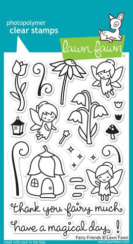 Набор штампов Fairy Friends Stamp Set