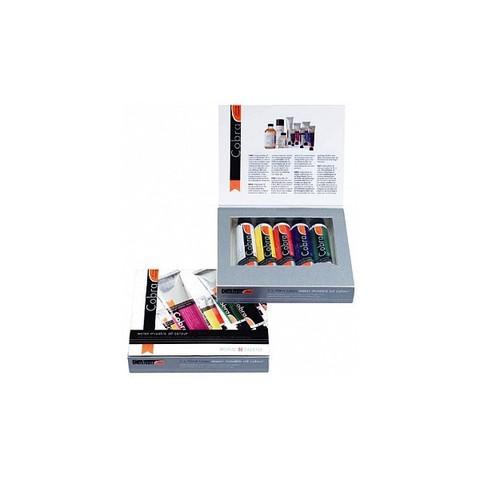 Набор водорастворимых масляных красок Cobra Study - 5 цветов в тубах по 40мл