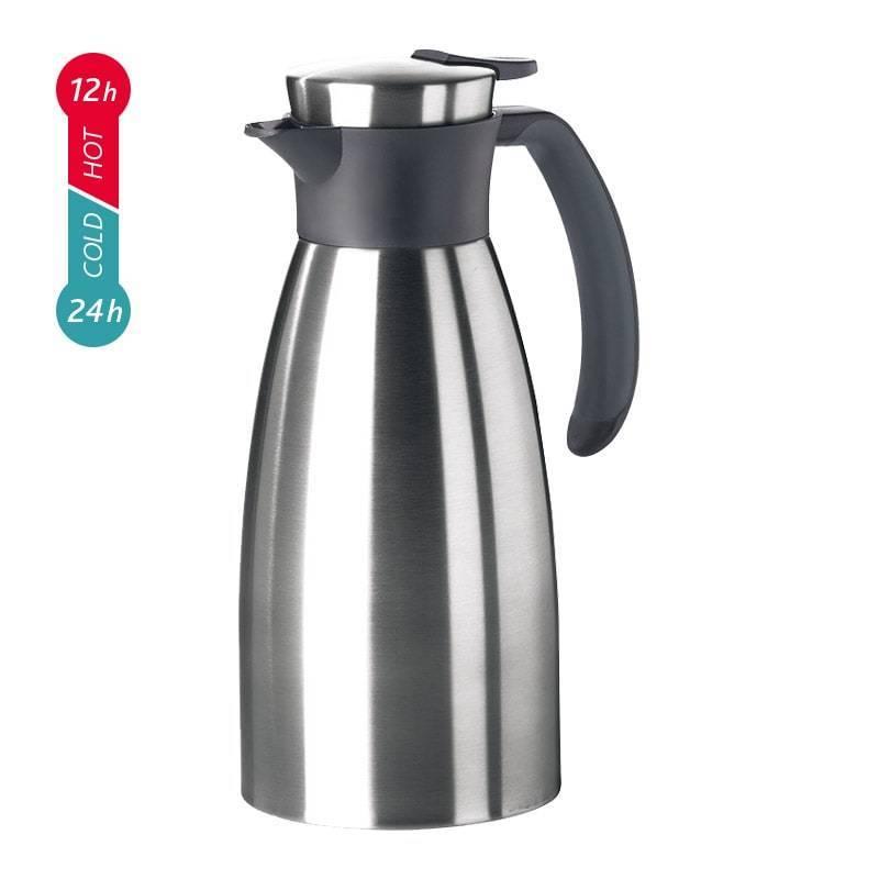 Термос-чайник Emsa Soft Grip (1,5 литра), черный