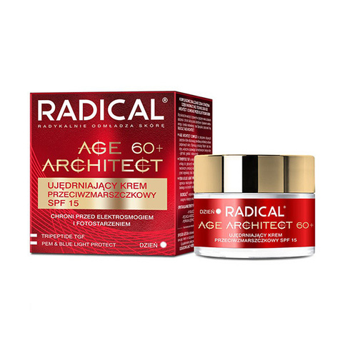 Farmona Крем от морщин подтягивающий 60+ SPF15 Radical Age Architect Firming Anti Wrinkle Cream 50мл