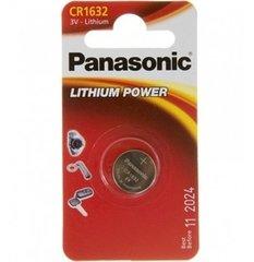 Батарейки литиевые Panasonic CR1632 BL1
