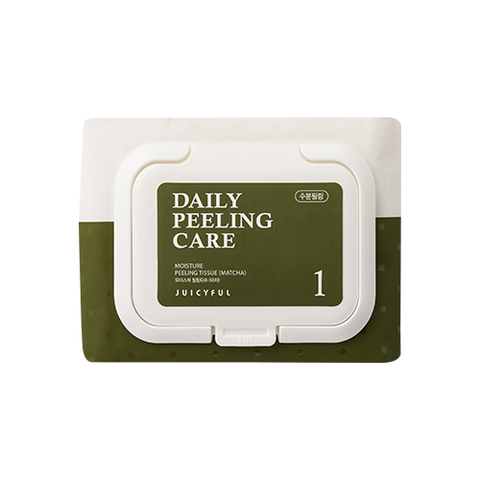 Пилинг Салфетки Juicyful Moisture Peeling Tissue Matcha #Зеленый чай