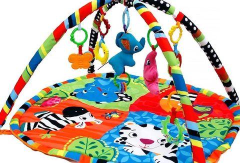 Развивающий коврик Funkids Color Zoo Gym напрокат
