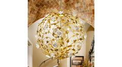 Kolarz 0325.36.3.R1W — Светильник потолочный подвесной Kolarz FLORA