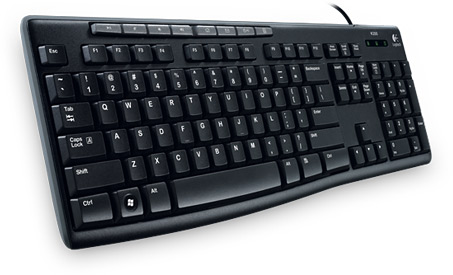 LOGITECH Media K200 USB black