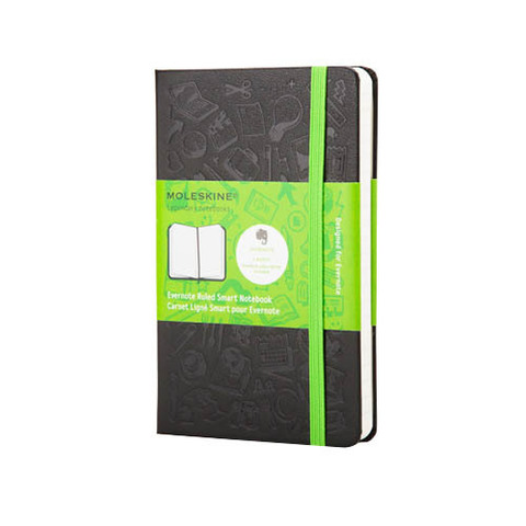Блокнот Moleskine Evernote Smart Notebook карманный Линейка