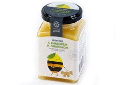 Крем-мёд с лимоном и имбирём, 320г