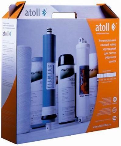 Набор фильтрэлементов atoll №102m STD (для A-550m, A-560m)