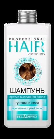 BelKosmex PROF.HAIR LOSS CONTROL Шампунь против выпадения волос густота и сила укрепление корней волос 230г