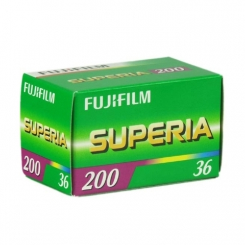 Фотопленка Fujicolor iso 200 Superia 36 кадров
