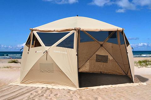 Шатер шестигранной формы Higashi Yurta Сamp Sand