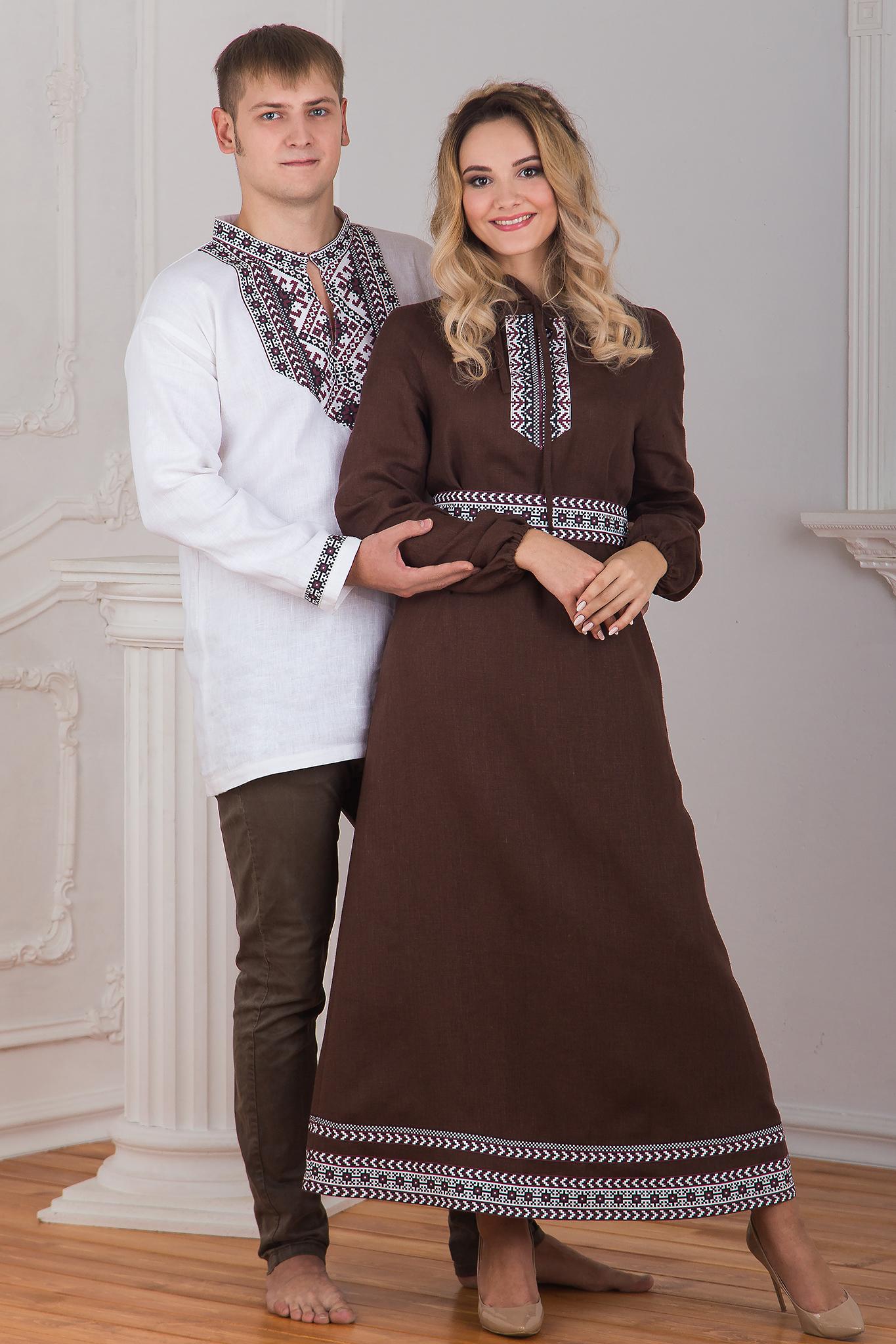 Славянская боевая рубаха с платьем Новгородское