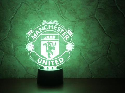 3D ночник Манчестер Юнайтед
