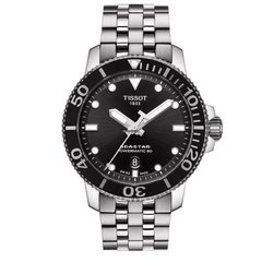 Мужские часы Tissot T120.407.11.051.00 Seastar 1000 Powermatic 80