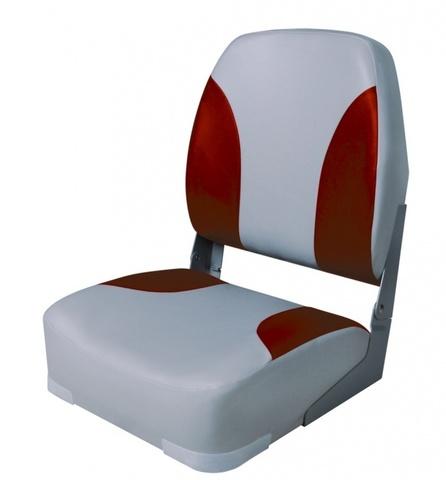 Лодочное кресло Classic High Back Серый/красный