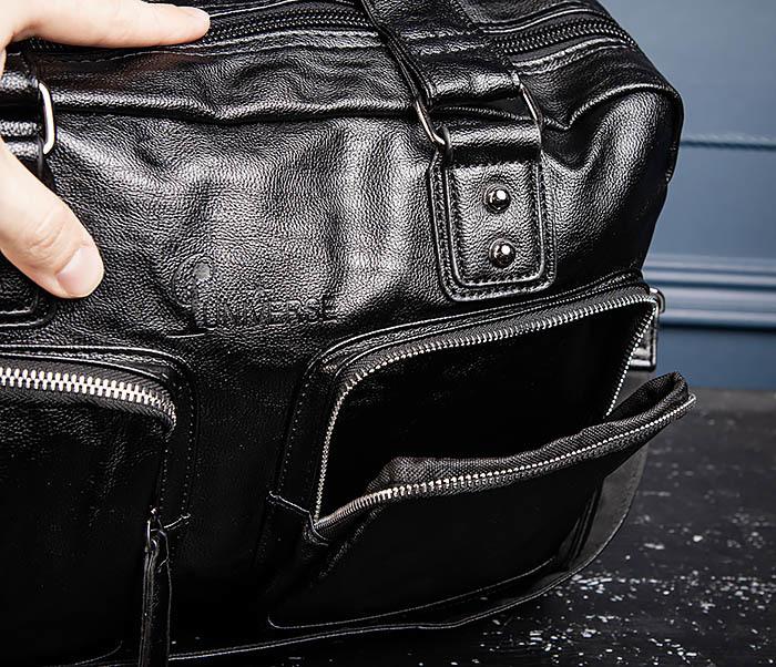 BAG552 Кожаная сумка для поездок с длинными ручками фото 13