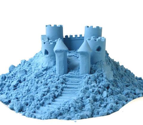 Космический песок 3 кг, голубой 3
