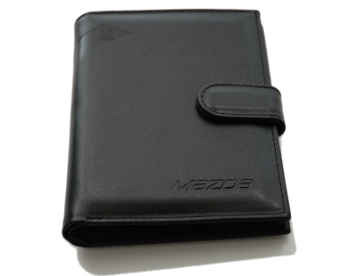 Портмоне для автодокументов Mazda Smoot Leather Vertical Wallet