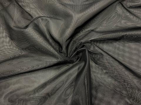 Сетка неэластичная черная средне-мягкая 50х150 см