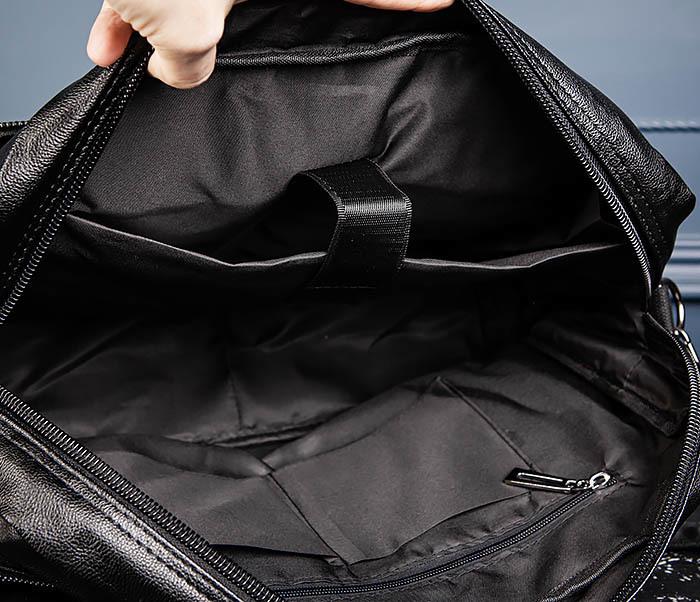 BAG552 Кожаная сумка для поездок с длинными ручками фото 14